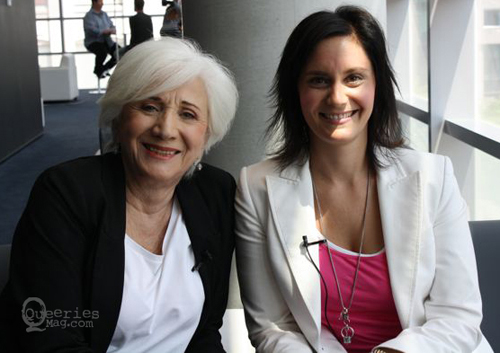Olympia Dukakis & Renée Olbert